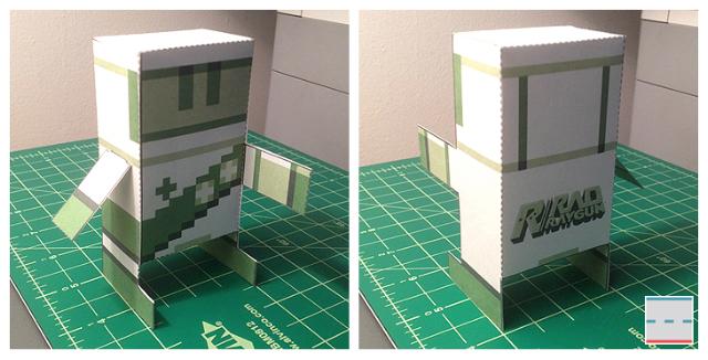 Rad Raygun Papercraft